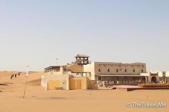 Tenggeli Desert : 騰格里沙漠