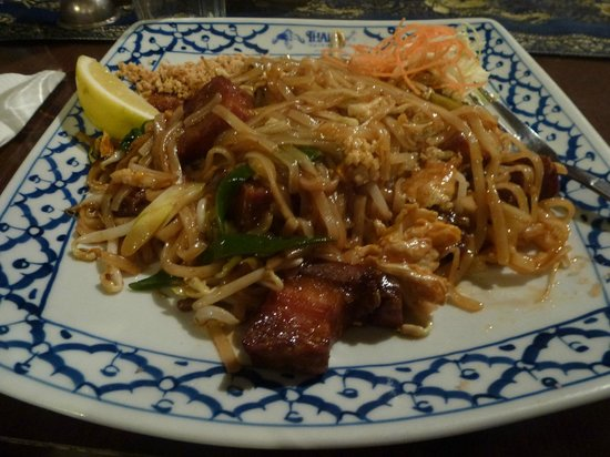 Thai Chef's Restaurant : Crispy Pork Thai style