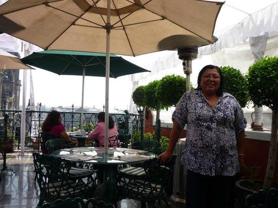 Zocalo Central: terraza - comedor