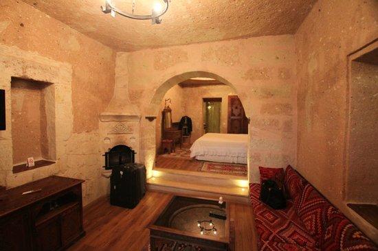 Alfina Hotel Cappadocia: Inside room