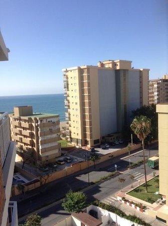 Hotel Mainare Playa Fuengirola: views from the 8th floor.