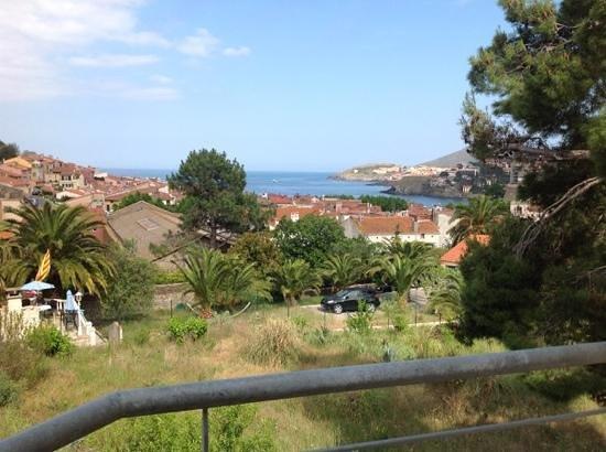 Villa Miranda: view from the terrace