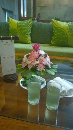 Borei Angkor Resort & Spa: Welcome Drink