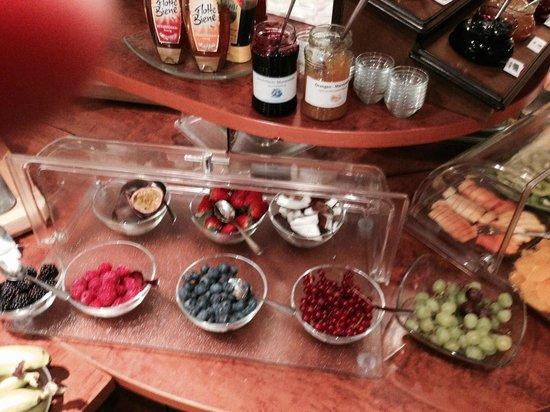 Hotel National : Ein Teil des Frühstücksbuffets