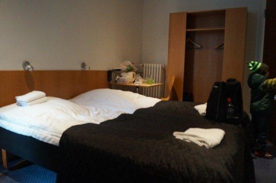 Saga Hotel: спальное место