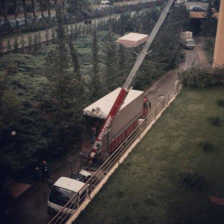 Hotel Ozkaymak Incekum: Во 2 корпусе наверху то ли ремонт то ли мебель обновляют