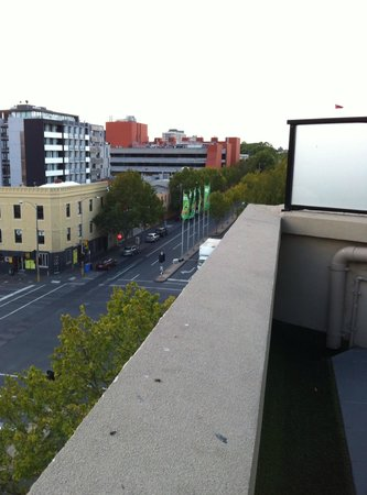 Space Hotel: View to Lygon Street