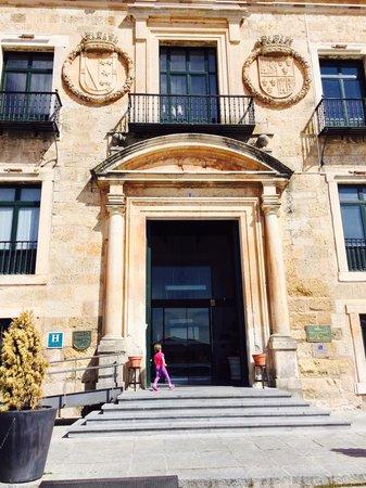 Parador de Lerma : Quite an entrance.....