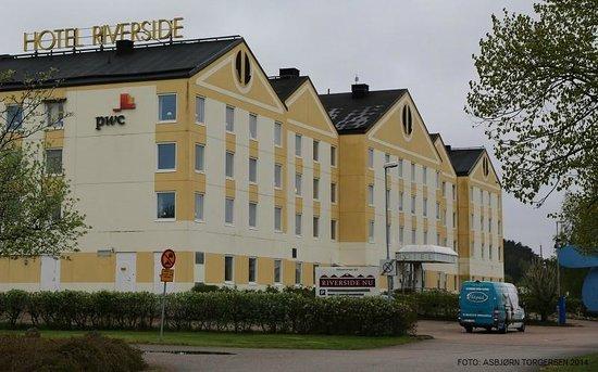 Fasadebilde - Bild från Hotel Riverside, Uddevalla - TripAdvisor