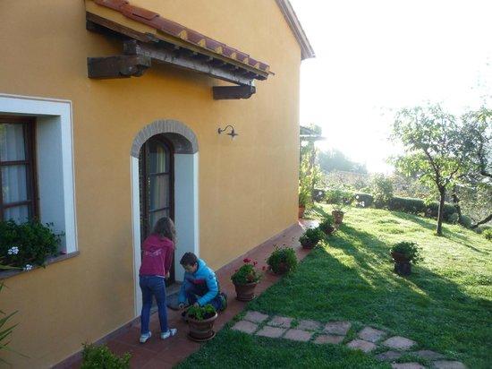 Ferienhaus In Toscana : Eiersuche am Ostersonntag