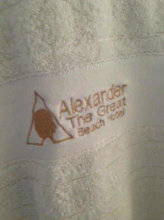 Alexander The Great Beach Hotel: Attention to detail