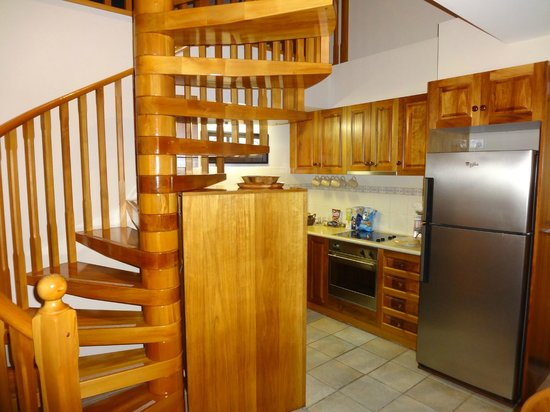 Lonsdale Views: Kitchen and staircase