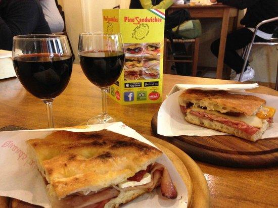 Salumeria Verdi - Pino's Sandwiches: La nostra colazione