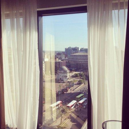 Hyatt Regency Birmingham: View from the room, lovely!