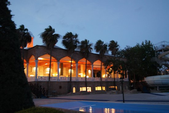 WOW Topkapi Palace: HOtel by night