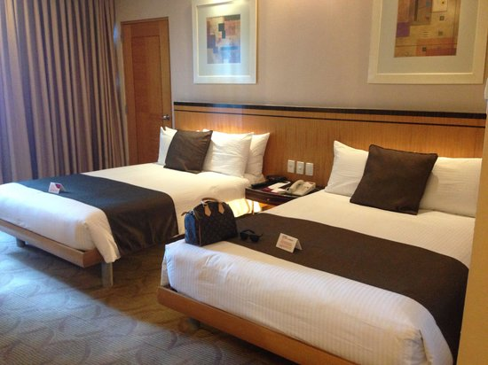 Crowne Plaza Manila Galleria : Nice rooms