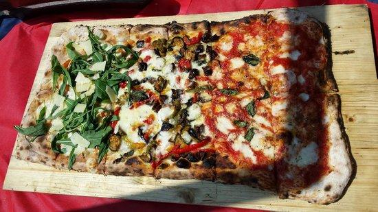 Vecchia Amburgo: pizza al sole di napoli