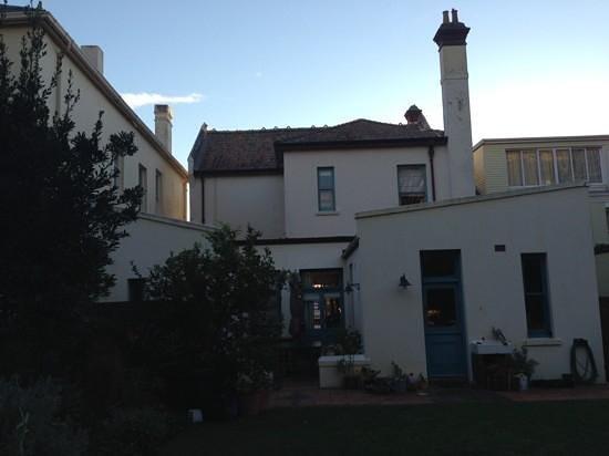 St Moritz Guest House: House: rear