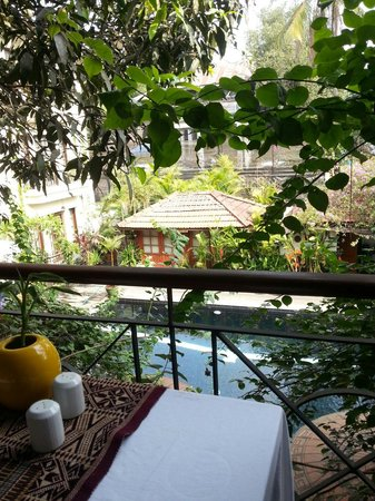Savoy Hotel Yangon : View from balcony during breakfast