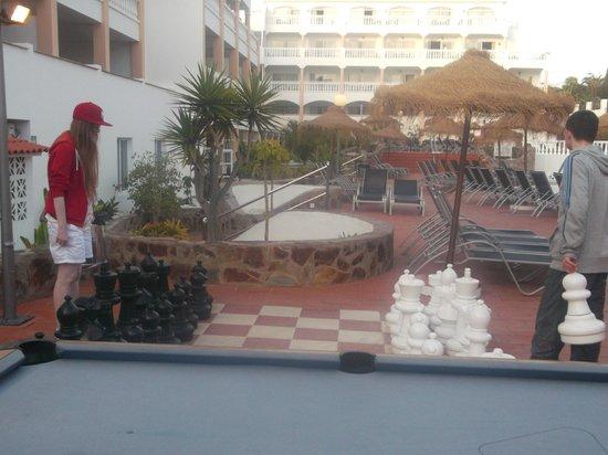 Marola Portosin: hotel grounds