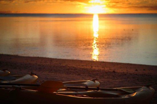 Etu Moana: Sunset on the beach