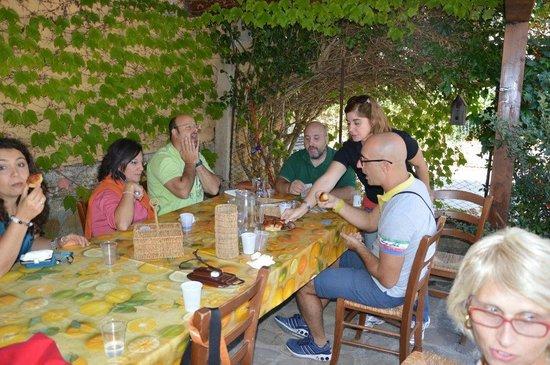 Agriturismo Valle del Torto: scopetta e aperitivi