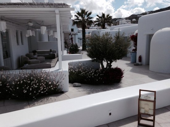 Mykonos Ammos Hotel: Vista sulle varie camere