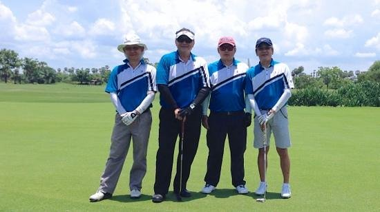 Angkor Golf Resort: My foursome
