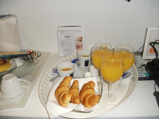 Priuli Luxury Rooms: Frühstück