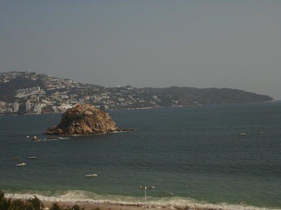 Crowne Plaza Acapulco: Vista desde la habitacion