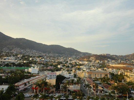 Gran Plaza Hotel Acapulco: Vista a la Ciudad