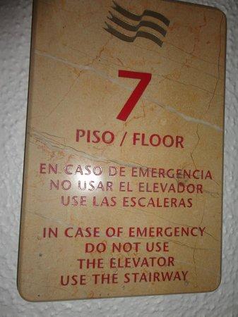 Gran Plaza Hotel Acapulco: Piso 7