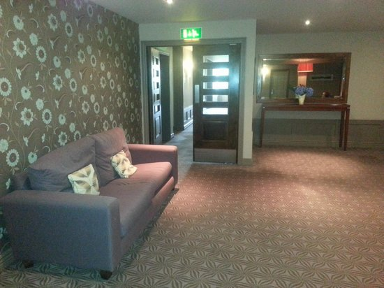 The Brehon: couloir hotel