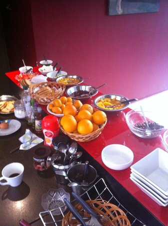 Art Suites Athens : La colazione