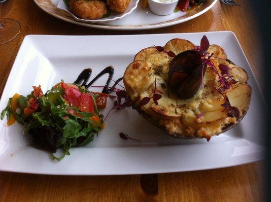 Cafe Fish: Shellfish St. Jacques