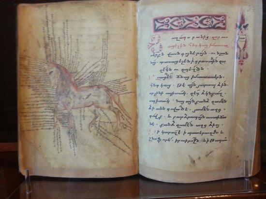 Matenadaran, Institut Machtots de recherches sur les manuscrits anciens : конелечебник