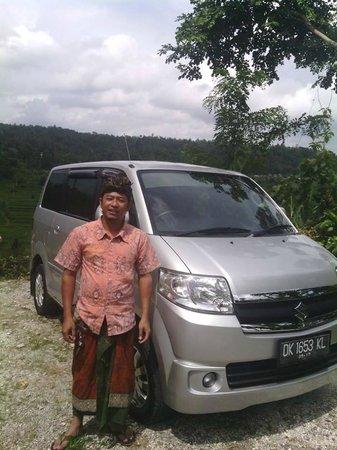 Putu Driver in Bali