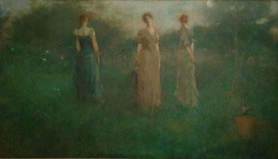 Smithsonian American Art Museum: T. W. Dewing: In the Garden