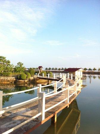 Bintan Sayang Resort : Kayaking area