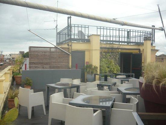 Hotel San Francesco: Blick von der Dachterrasse