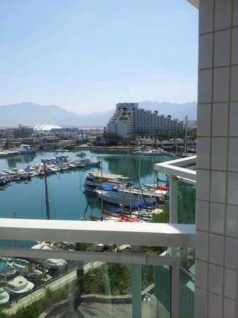 Dan Eilat : Вид с балкона