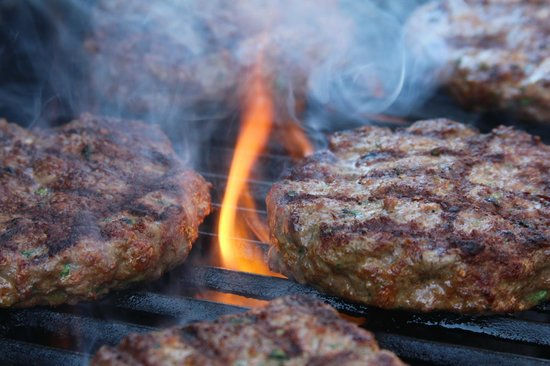 South Sixteen Fish n Chip & Pizza Takeaway & Restaurant: Flame grilled burgers