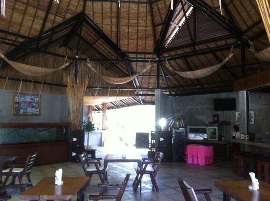 Samui Honey Tara Villa Residence: Thai Style Restaurant at reception