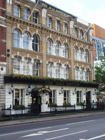 The Mad Hatter Hotel: Hotel & Bar Entrance
