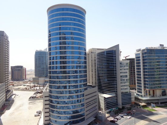 Auris Metro Central Hotel Apartments : View from room