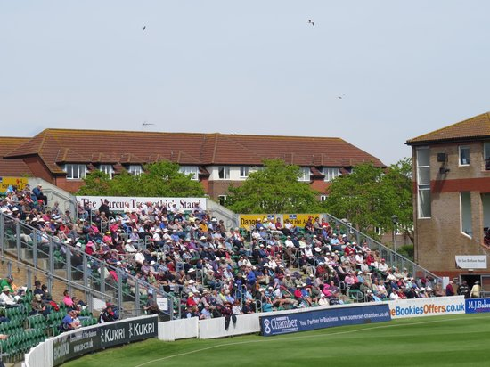 The Cooper Associates County Ground: Members stand