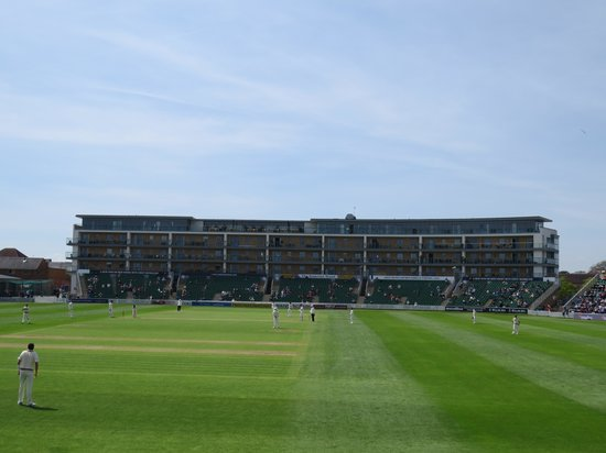 The Cooper Associates County Ground: Somerset stand