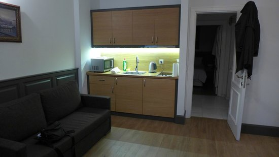 Panoramic Terrace's: Kitchen area