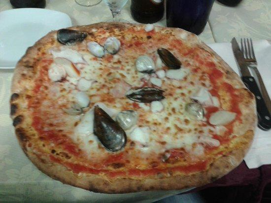 Sempione: Pizza ai frutti di mare