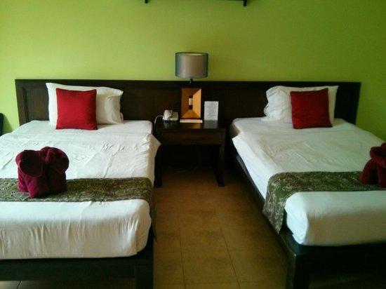 Krabi La Playa Resort: Chambre double.